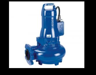 KSB serie Amarex N sumergible para drenaje de agua servida (Tipo vortex)